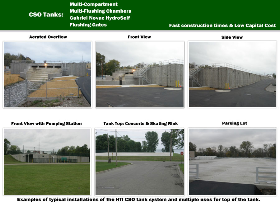 Combined Sewer Overflow Tanks