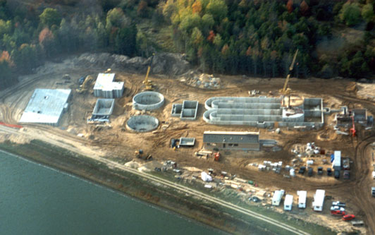 Kalkaska, Michigan Wastewater Treatment Project.