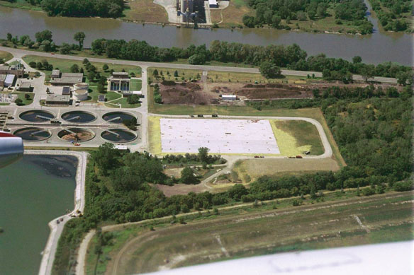 Saginaw, Michigan Wastewater Treatment Project.